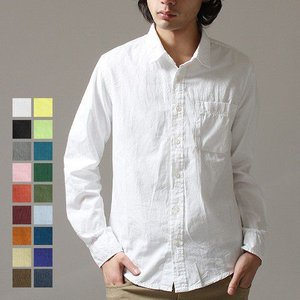 長袖 シャツ メンズ ライン テープ ブロード素材 レギュラーカラー メンズ トレンド|soyous
