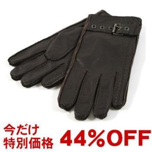 手袋 メンズ シープスキン レザー ハンドステッチ ベルトデザイン メンズ トレンド|soyous