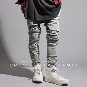 デトロイト クラッシュ スウェット パンツ メンズ|soyous