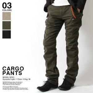 カーゴパンツ メンズ スリム 夏 人気 スキニー パンツ メンズ トレンド|soyous