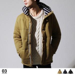 【アウター】ソフト 天竺 スタンドフード 中綿 ジャケット メンズ ファッション 通販 メンズ トレンド soyous