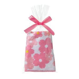 桜ハンドタオル 100個以上からご希望の数だけ出荷可能 粗品 プチギフト ノベルティ 販促品 プレゼント