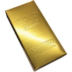 ゴールドバー 7090 (カード払限定) 100個入 BOXティッシュ お金シリーズ