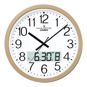 カシオ ウェーブセプター 大型電波掛時計 名入れ可能商品 人気 販促品 ノベルティ 粗品 景品 ビンゴ プレゼント お礼 挨拶 IC-4100J-9JF sp-gifts