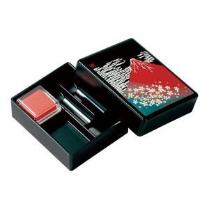 印鑑ケース(小) 赤富士 ◆ケース入数:100個 ◆現品サイズ:80×95×25mm ◆パッケージサ...