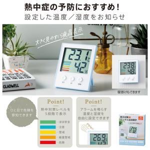 熱中対策デジタル温湿度計 名入れ可能商品 二次会 ビンゴ 景品 粗品 販促 ノベルティ