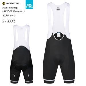 Monton[モントン]ビブショーツ LIFESTYLE Movement II(自転車用ビブパンツ)男性用メンズ  取り寄せ品|sp-kid