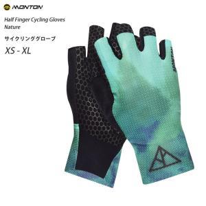 Monton[モントン]ハーフフィンガー・サイクリング・グローブ自転車用手袋指切り[Nature] sp-kid