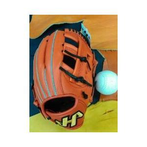 ハタケヤマ 軟式内野手用グラブTH-076 ソフト用に型付け込み sp-mikuni0595