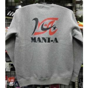 MANI-A(マニア)オリジナルロゴ 裏起毛トレーナー ご予約注文  MANIATR4 sp-mikuni0595