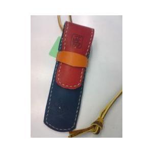 グラブ革製 手づくりのペンケース!|sp-mikuni0595