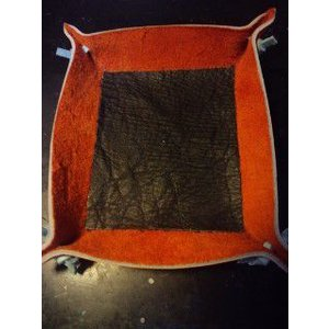グラブ革製 手づくりのトレイ 小|sp-mikuni0595