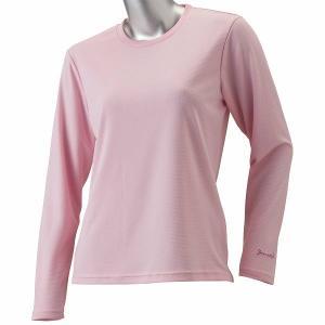 ★汗をかいてもすぐに乾く!   ★女性がきれいに見えるシルエットを追求した吸汗速乾長袖Tシャツ。  ...