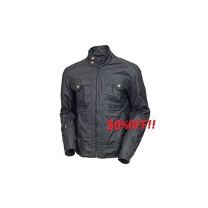 決算セール!限定1着!ROLAND SANDS DESIGN ケント テキスタイル ジャケット ブラック/XLサイズ PLOT正規品【当店在庫あり】|sp-shop