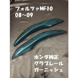 08'〜09' FORZAフォルツァ MF10 グラブレールガーニッシュ(カーボン調)ホンダ純正【当店在庫あり】希少!メーカー販売終了品です。|sp-shop
