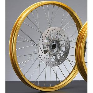 SEROWセロー250(全年式)フロントホイールASSY(ゴールド)ヤマハ純正|sp-shop