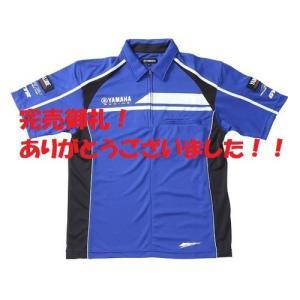 【完売御礼!】数量限定! YRE11 Zip coolmax shirt ハーフジップポロシャツ ヤマハ純正【当店在庫あり】|sp-shop