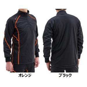 長期在庫特価! HBV-001 防風防寒インナーシャツ ハーフZIP デイトナ【当店在庫あり】|sp-shop