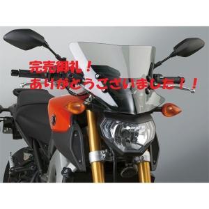 14'〜16' MT-09 RN34J ウインドシールド ライトスモーク national cycle Vstream デイトナ【当店在庫あり】|sp-shop