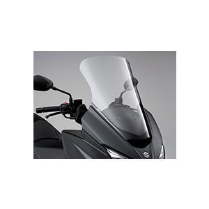 バーグマン400 DU11A ロングウインドスクリーンセット クリア スズキ純正|sp-shop