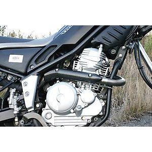 05'〜17' dB's セロー250 XT250X DG11J/17J EX2-RISEチタンエキパイ カーボンヒートガード付|sp-shop