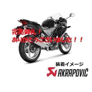 【完売御礼!】CBR250R MC41(〜13年)AKRAPOVIC スリップオン e1 HEXAGONALステンサイレンサー|sp-shop