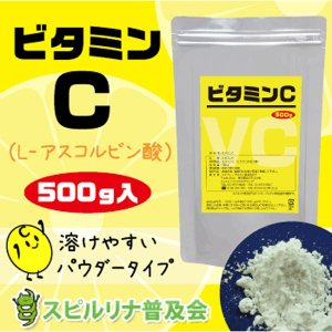 ビタミンC 500g 【サプリメント】