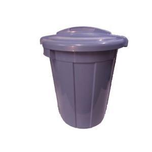 新輝合成 トンボ ニューセレクトペールM−70ふた付きセットブルー 【業務用 大型 屑入れ ごみ箱 ゴミ入れ】|sp2d