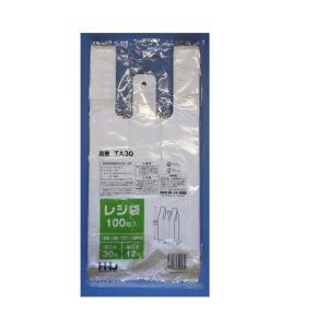 レジ袋TA30(西日本30号・東日本12号)100枚入り|sp2d