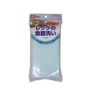 レック 食器洗いK−008・グリーン【食器用スポンジ】|sp2d