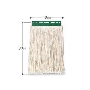 テラモト FXモップ替糸(J)18c 300gグリーン|sp2d