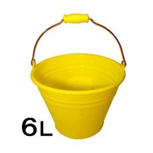 ヒマラヤ カラーバケツ6L・黄|sp2d