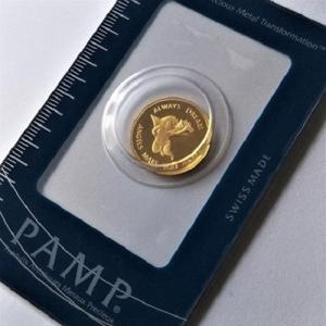 純金 コイン 金貨 24金 PAMP エンジェル金貨 2.5g 天使 純金 金 ゴールド コイン 9...