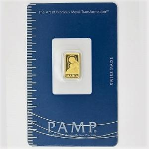 純金 コイン 金貨 24金 聖母マリア金貨 1g スイス パンプ 金 ゴールド 24k k24 インゴット