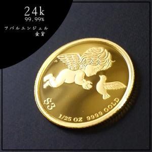 純金 コイン 金貨 24金 ツバルエンジェル金貨 1/25オ...