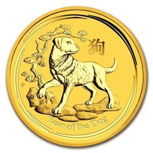 純金 コイン 24金 干支戌金貨 1/10オンス 2018年 クリアケース入り 「金銀の貯金箱」保証書付き|spacein