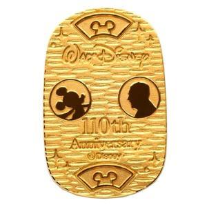 ディズニー ミッキーマウス 純金小判 5g  中古品 (ほぼ新品)|spacein