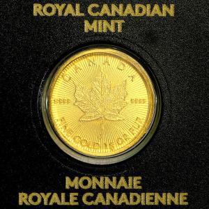 メイプル金貨 1g  2018年製 純金 24金 ゴールド コイン メイプルリーフ 保証書付き 24K