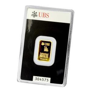 純金 インゴット『UBS ゴールドバー 5g』スイスUBS銀行発行 5gの純金 24金 品位:K24 (99.99%) 延べ棒 金塊 貴金属 販売《安心の本物保証》☆送料無料☆|spacein
