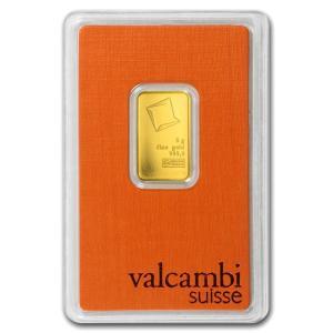 スイス ヴァルカンビ ゴールドバー 5g(ブリスターパック入り) 99.99 純金 24金 INGOT インゴット 保証書付き|spacein