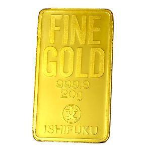 ISHIFUKU ゴールドバー 20g 『金銀の貯金箱』保証書付き|spacein