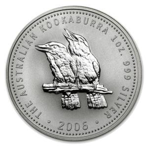 かわせみ銀貨 1オンス クリアケース入り 2006年 オーストラリアパース造幣局発行|spacein