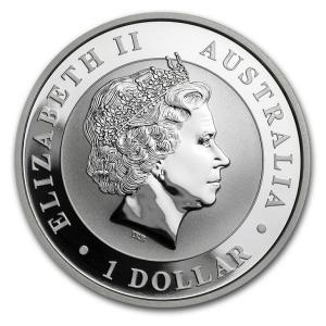 かわせみ銀貨 1オンス ルースターマーク入り (2017)  オーストラリアパース造幣局発行 spacein 02