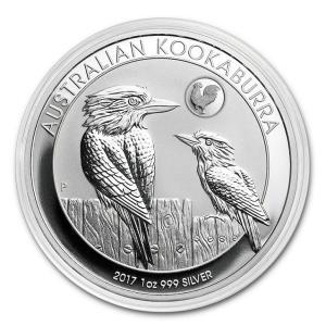 かわせみ銀貨 1オンス ルースターマーク入り (2017)  オーストラリアパース造幣局発行 spacein 03
