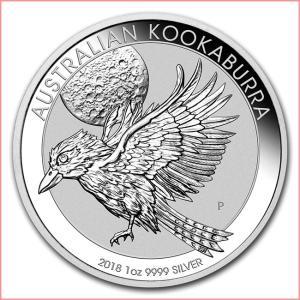 かわせみ銀貨 1オンス クリアケース入り 2018年 オーストラリアパース造幣局発行|spacein