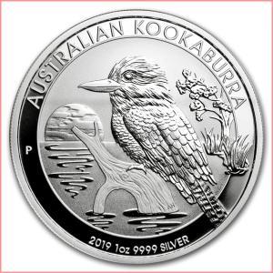 銀貨 コイン『かわせみ銀貨 1オンス 2019年製 クリアケース入り』オーストラリアパース造幣局 31.1gの純銀 品位:99.99% シルバー《安心の本物保証》保証書付き|spacein