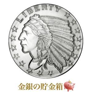 インディアン銀貨 1/4オンス クリアケース入り|spacein