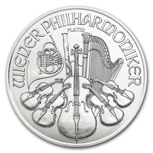 ウィーンプラチナコイン 1/25オンス 2018年製 クリアケース入り オーストリア造幣局発行 1.24gの純プラチナ 品位:99.95%《安心の本物保証》保証書付き|spacein