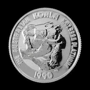 プラチナ コアラコイン 1/10 オンス 1990年|spacein