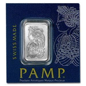 豊穣の角 1g コルヌコピア プラチナバー スイス・パンプ社発行 1gの純プラチナ INGOT インゴット 地金型 白金 Pt 保証書付き|spacein